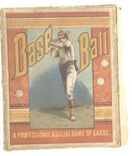 Baseball - A Professional and Social Game of Cards (1884)