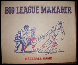 Big League Manager (Arrowhead Trading Post, 1958)