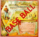 antique baseball game - Base Ball - J H Singer, 1886
