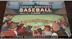 vintage tabletop baseball - Baseball Game - Parker Brothers, 1950