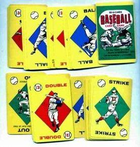 Baseball Card Game (Ed-U-Cards, 1957)