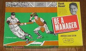 Be A Manager - American League Edition (Bamco, 1967)