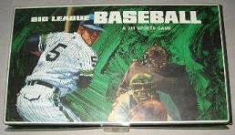 baseball board game - Big League Baseball - 3M, 1966