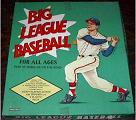 baseball boardgame - Big League Baseball - Saalfield, 1959
