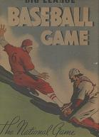 antique baseball boardgame - Big League Baseball, the National Game - Whitman, 1939