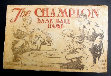 The Champion Base Ball Game -- New York Games Co, 1913