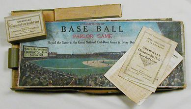 Championship Base Ball Parlor Game, Grebnelle Novelty Co., 1914-15