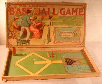 The College Base Ball Game -- Parker Brothers, 1906