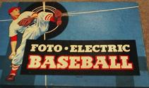 vintage baseball game - Foto-Electric Baseball - Cadaco, 1949