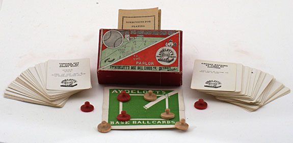From the Field to the Parlor, The Aydelott's Base Ball Cards Co., 1910s