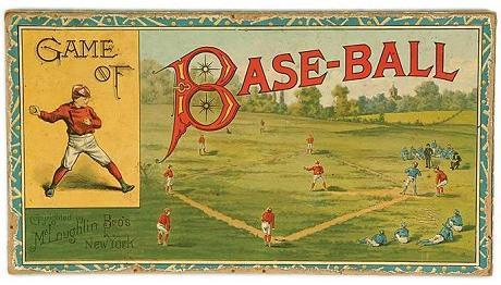 Game of Base-Ball (McLoughlin Brothers, 1886)