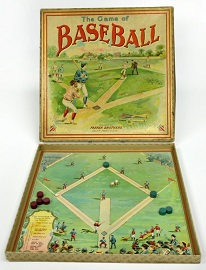 The Game of Base Ball -- Parker Brothers, 1890s