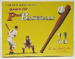 Game of Peg Baseball -- Parker Brothers, 1961