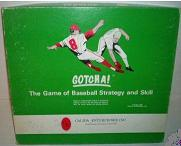 baseball board game - Gotcha! - Calida, 1968