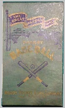The Great American Game ~ Pocket Base Ball -- Neddy Pocket Game Co, 1920s