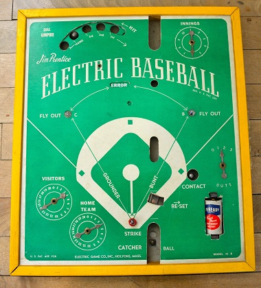 Jim Prentice Electric Baseball - Model 48-B, 1947 variation