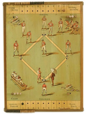 League Parlor Base Ball -- R Bliss Mfg, 1884