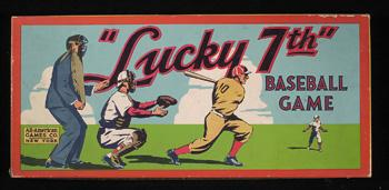 Lucky 7th Baseball Game (All-American Game Co, 1937)