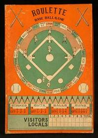Roulette Base Ball Game (Wm Bartholomae, 1929)