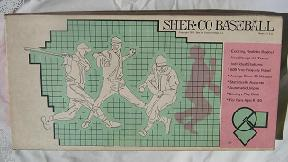 Sher-Co Baseball (SherCo, 1971)