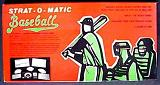 dice baseball board game - Strat-O-Matic Baseball - Strat-O-Matic, 1984