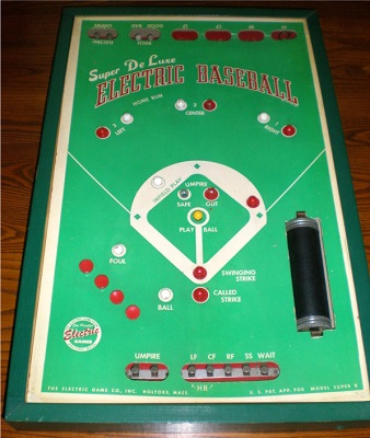 Super De Luxe Electric Baseball Model Super B - circa 1949