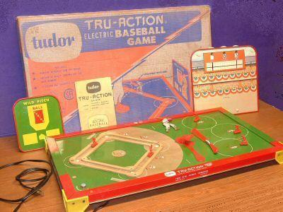 Tru-Action Electric Baseball Game (Tudor, 1950s)
