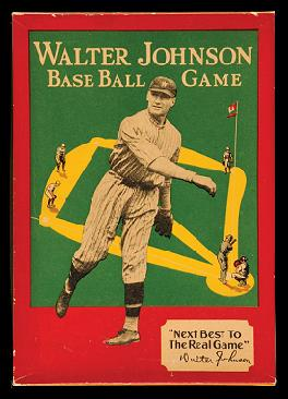 Walter Johnson Base Ball Game (Walter Johnson, 1930s)