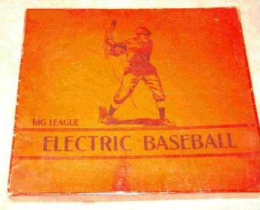 Big League Electric Baseball 'red box version 2' - 1930s