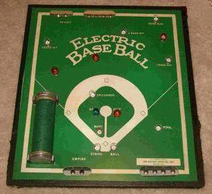 Electric Base Ball 'Electric Bat' - Electric Game Co, 1930s