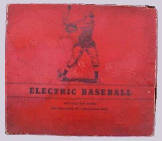 Electric Baseball 'red box version 1' - 1930s