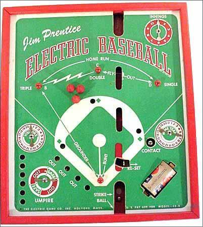 Jim Prentice Electric Baseball Model 48-B - 1940s