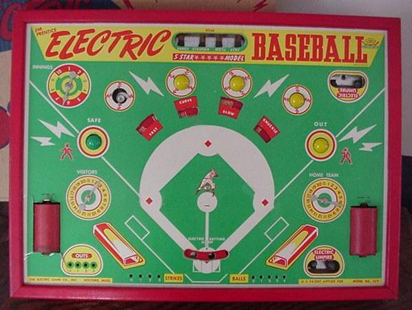 Jim Prentice Electric Baseball 5 Star ***** Model 509 - 1950s
