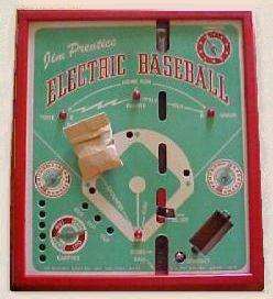 Jim Prentice Electric Baseball Model 68-B - 1940s