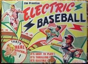 Jim Prentice Electric Baseball - 1950s