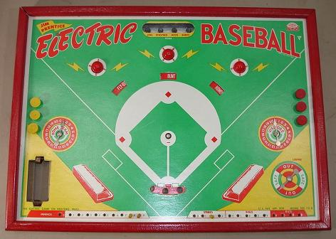 Jim Prentice Electric Baseball Model 73-B - 1950s