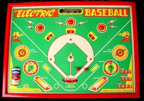 Jim Prentice Electric Baseball Model 73BN - 1950s