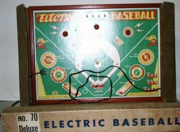 Jim Prentice Electric Baseball No. 70 Deluxe - 1950s