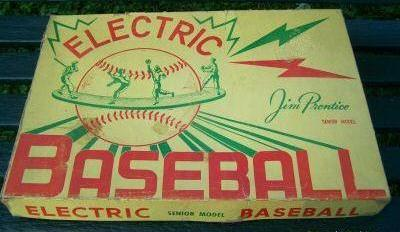 Jim Prentice Electric Baseball Senior Model 66-B box - circa 1950
