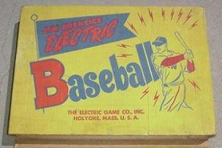 Jim Prentice Electric Baseball Model 79B box - 1950s