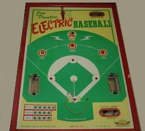 Jim Prentice Electric Baseball Model 79B - 1950s