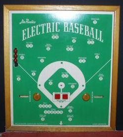 Jim Prentice Electric Baseball - 1940s