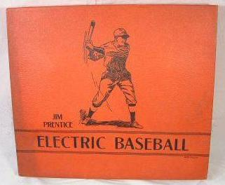 Jim Prentice Electric Baseball 'red box version 3' - circa 1940