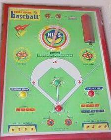 Jim Prentice Electric Motor Action Baseball Model 514