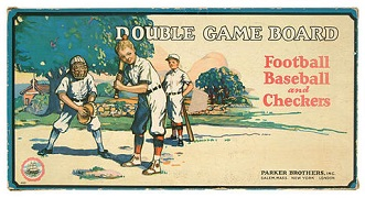 Double Game Board -- Parker Brothers, 1926